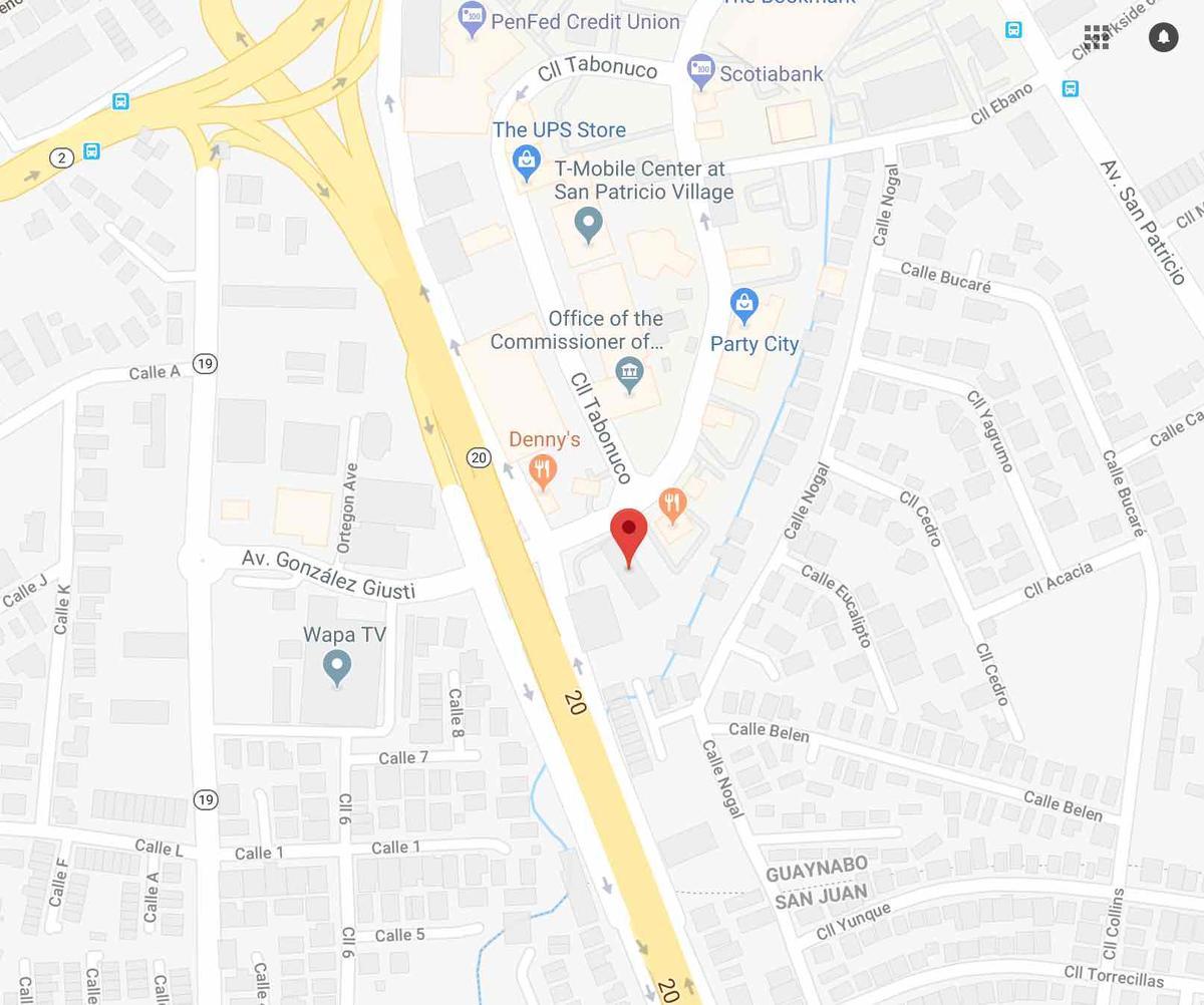 Map -Puerto Rico | Cambridge College Puerto Rico