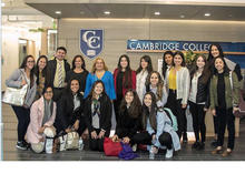 United Women for Colombia Foundation with members of Cambridge College