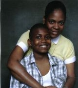 Jacqueline Williams-Hines with son